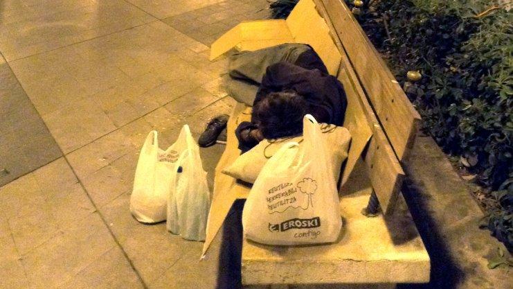 Obdachlos nach der Coronakrise