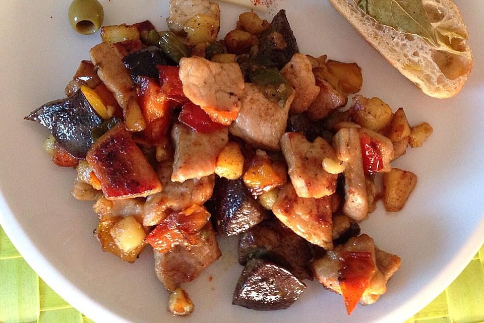 Mallorquinische Küche -Frito Malloquin