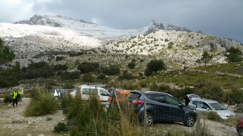 Schnee auf dem Puig Major - jedes Jahr ein Spektakel