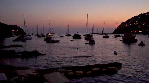 Port Andratx am Abend