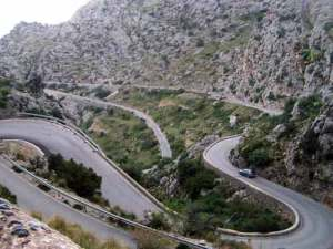 Serpentinen auf Mallorca